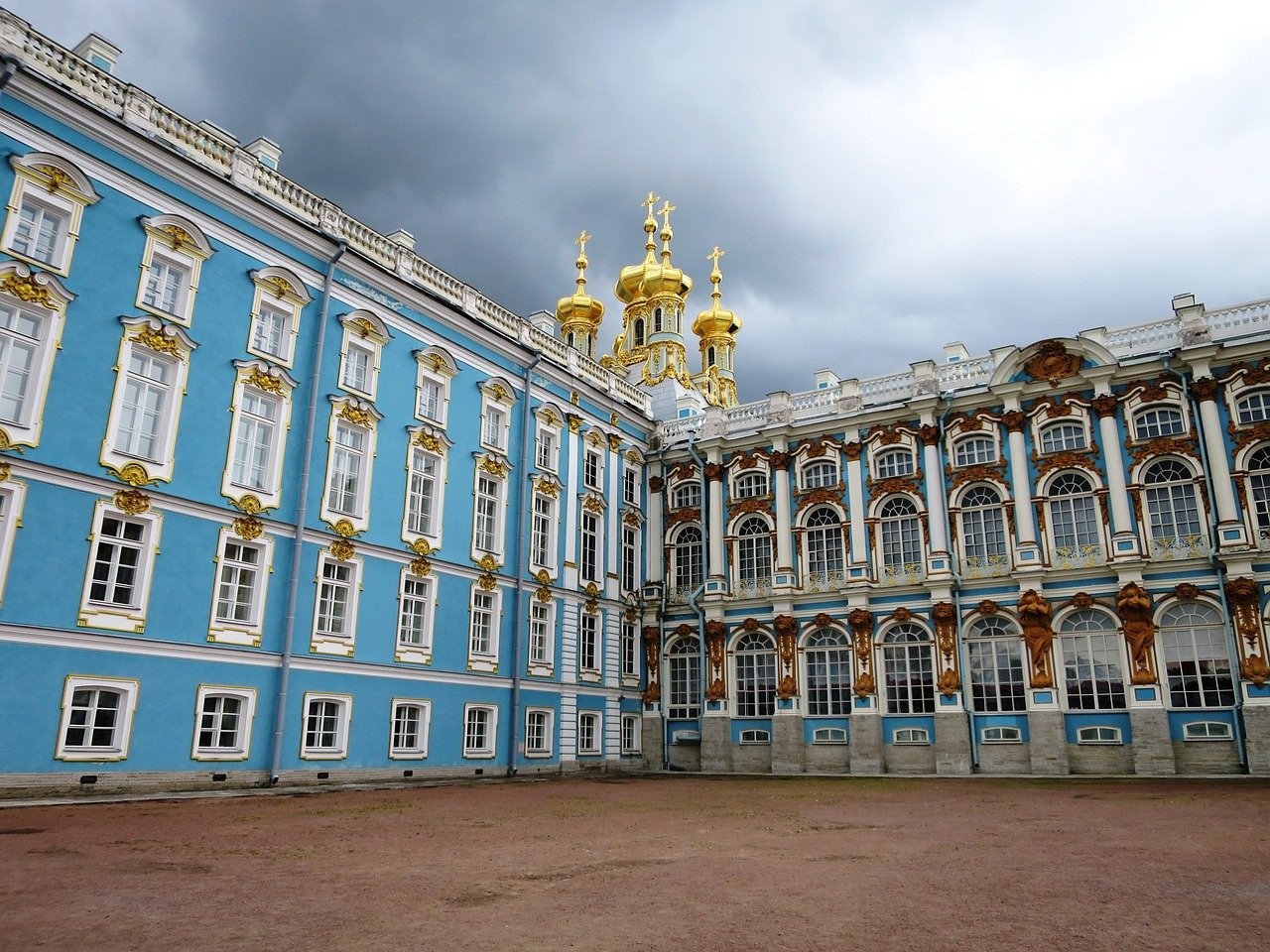 catherine's palace, st petersburg, russia